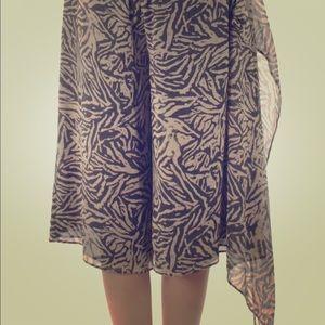 NWT Rachel Roy long skirt shorts size 2